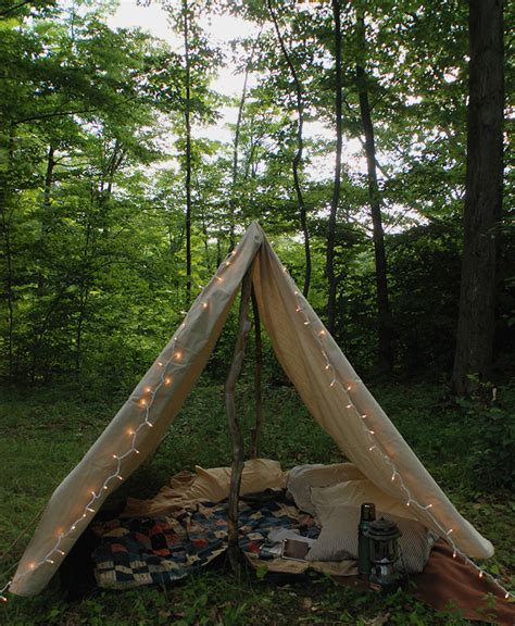 DIY Canvas Tent Plans