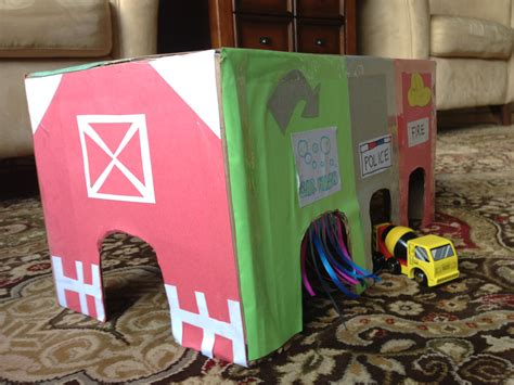 DIY Car Themed Toy Box