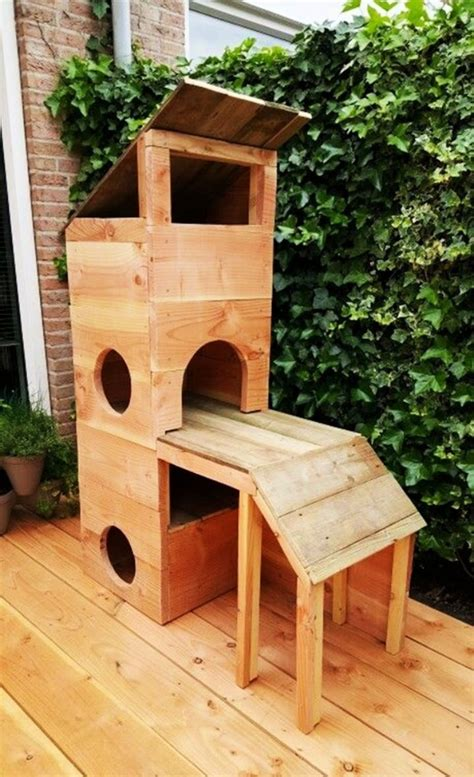 DIY Cat Condo Plans Wood