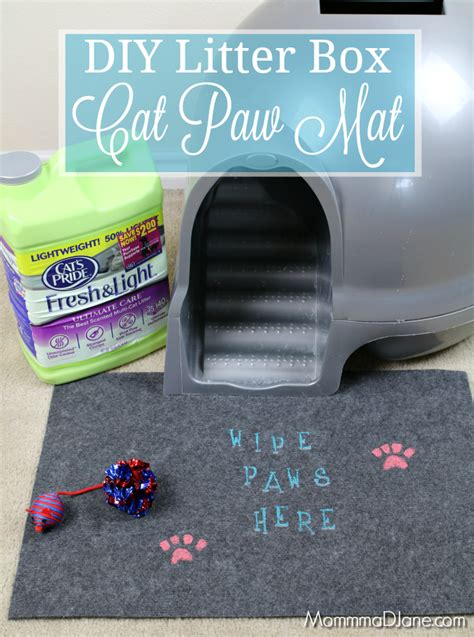 DIY Cat Litter Box Mat