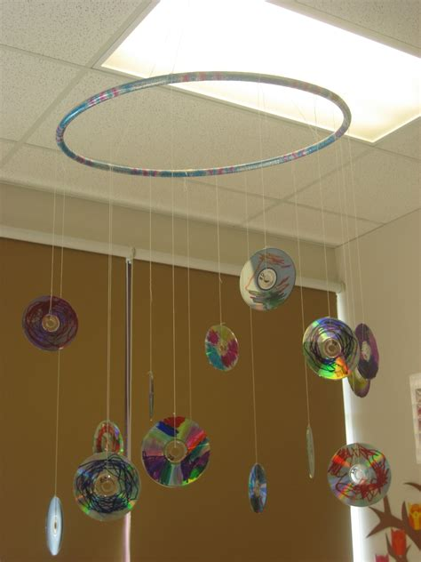 DIY Cd Project Hanging Mobile