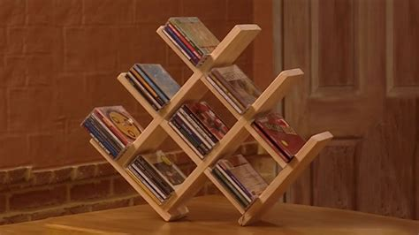 DIY Cd Rack Made Of Wood
