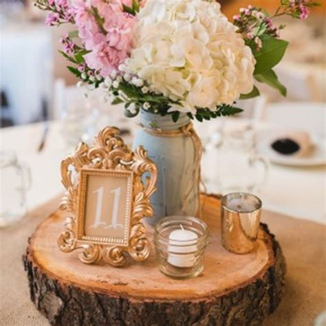 DIY Center Pieces For A Round Table