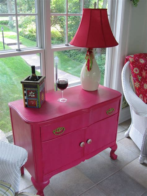 DIY Chair Upholstery In Pink