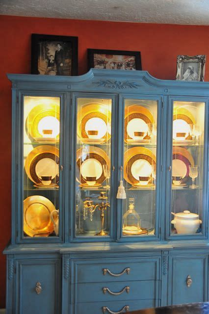 DIY China Cabinet Lighting