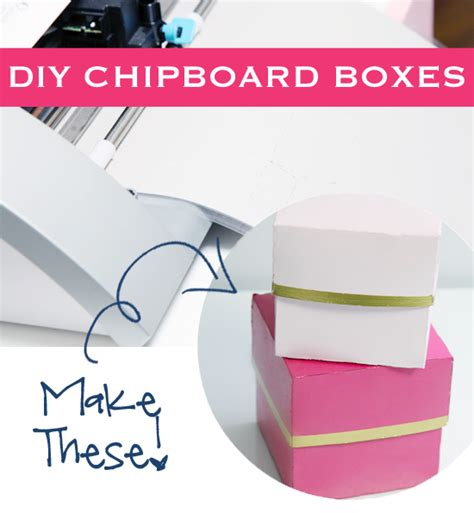 DIY Chipboard Boxes