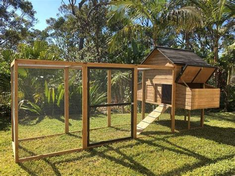 DIY Chook Pen Plans