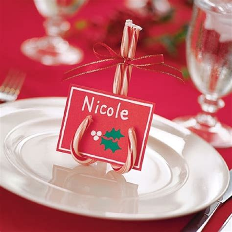DIY Christmas Table Place Cards
