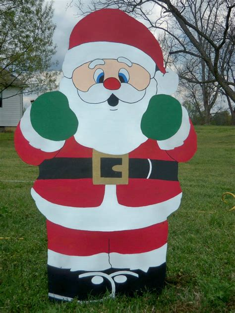 DIY Christmas Wood Yard Art Plans