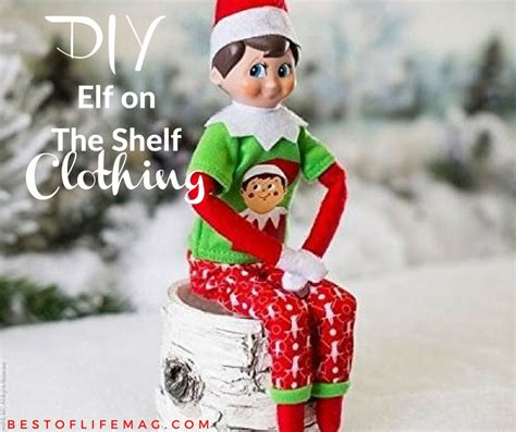 DIY Clothes For Elf On The Shelf