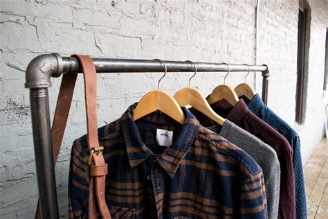 DIY Clothes Rack From Pipe