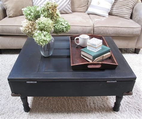 DIY Coffee Table Out Of Door