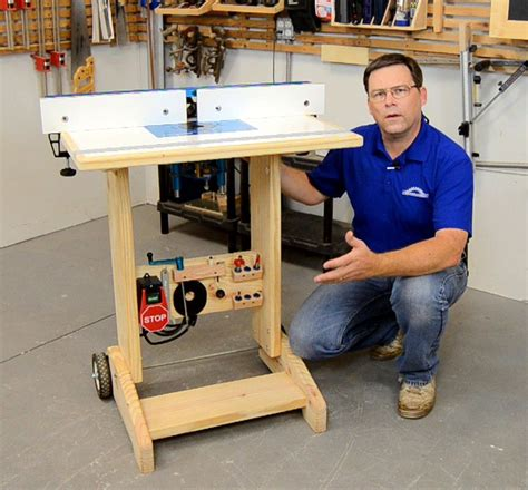 DIY Collapsible Router Table