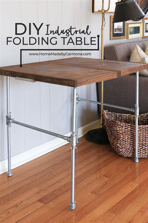 DIY Collapsible Table