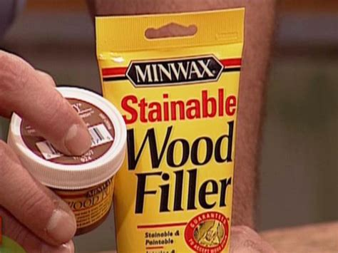 DIY Colored Wood Filler