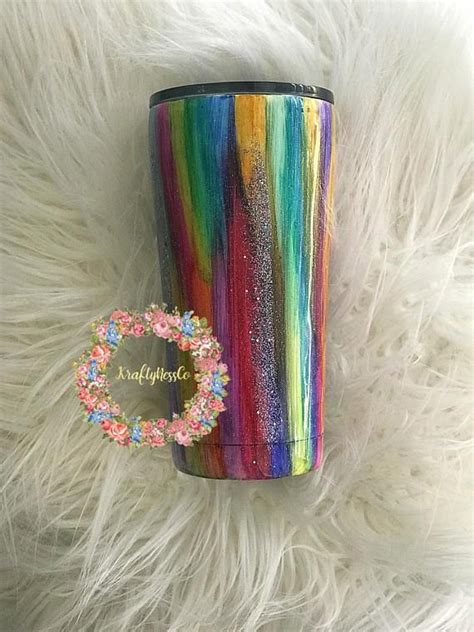 DIY Colorful Wood Grain