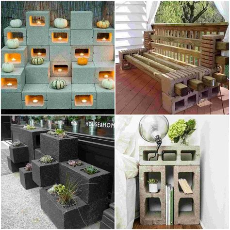 DIY Concrete Block Projects