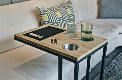DIY Console Table Tray