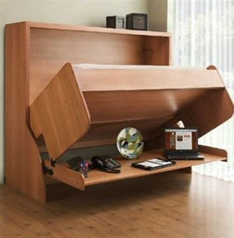 DIY Convertible Bed Desk