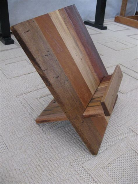 DIY Cookbook Stand Wood