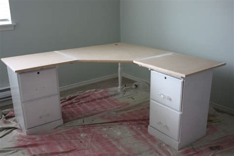 DIY Corner Desk Plan