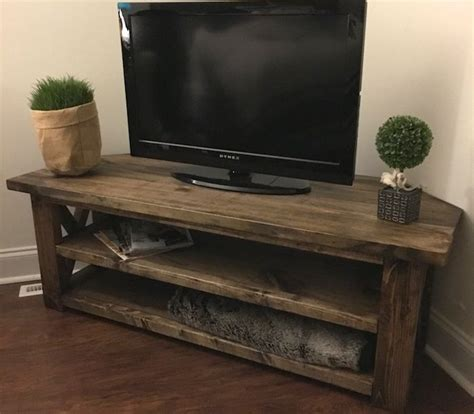 DIY Corner Tv Stand diagram