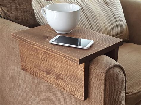 DIY Couch Arm Rest Table