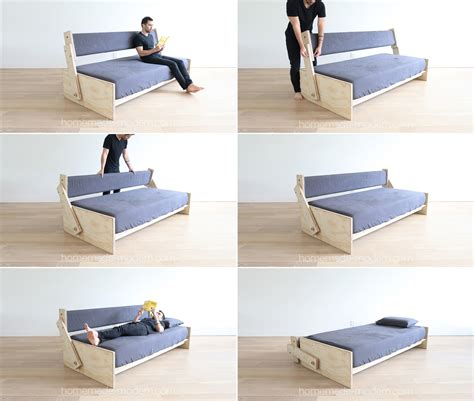 DIY Couch Beds