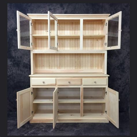 DIY Country Hutch And Buffet Plans