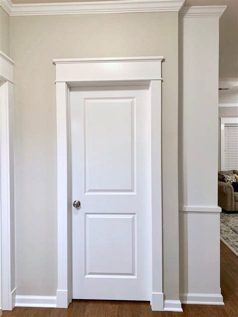 DIY Craftsman Door Trim Mdf