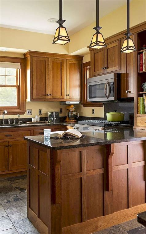 DIY Craftsman Kitchen Cabinets