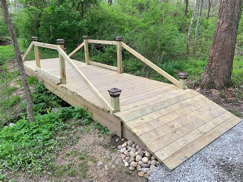 DIY Creek Bridge Plans