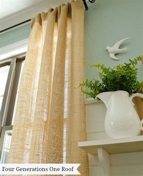 DIY Curtains No Sew