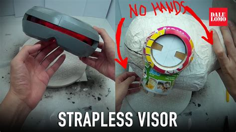DIY Cyclops Visor Cereal Box