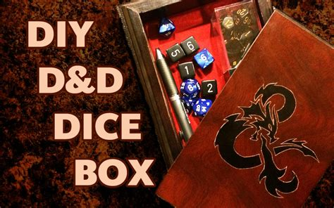 DIY D D Dice Box