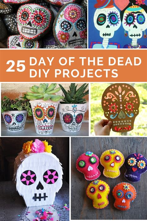 DIY Day Of The Dead Projects