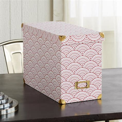 DIY Decorative File Boxes