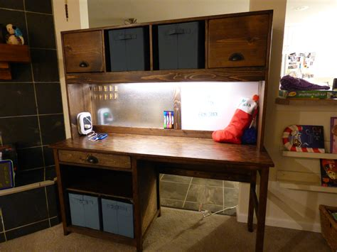 DIY Desk Hutch