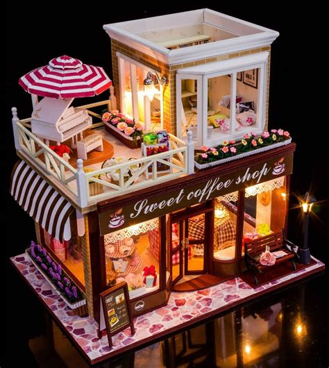DIY Dollhouse Kit Miss Dessert Stand