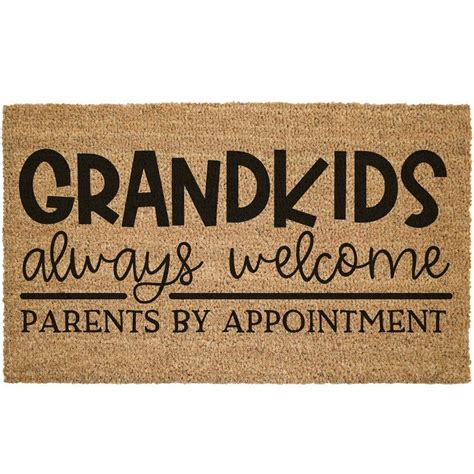 DIY Doormat Grandparents