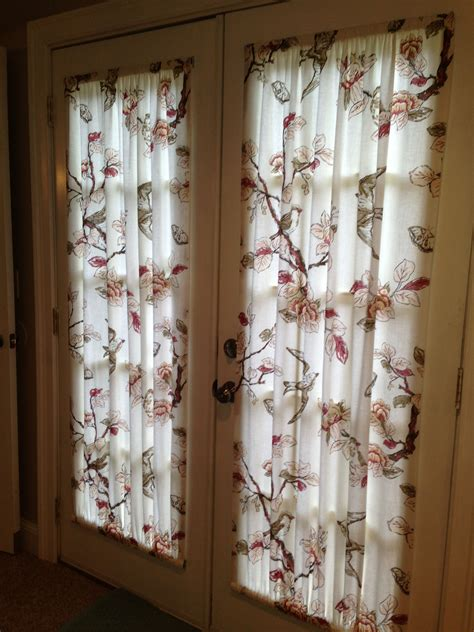 DIY Drapes For French Doors