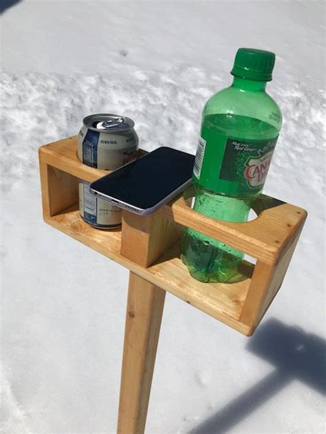 DIY Drink Stand With Spindles