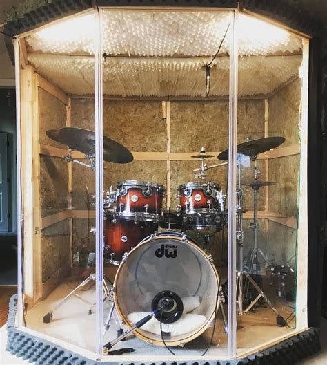 DIY Drum Booth Plans