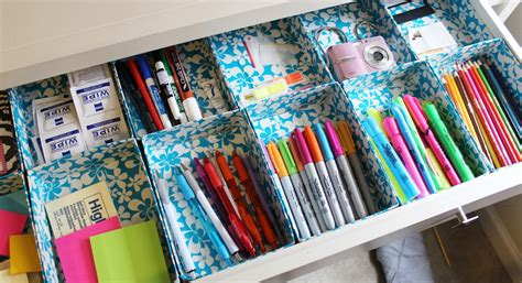 DIY Duct Tape Desk Organizer