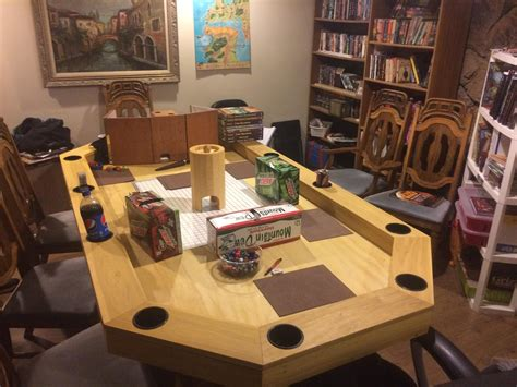 DIY Dungeons And Dragons Table
