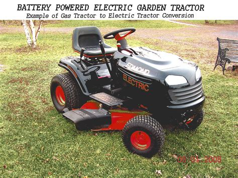 DIY Electric Tractor Plans