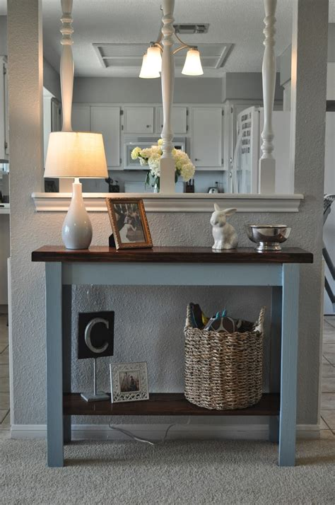 DIY Entryway Table Pinterest