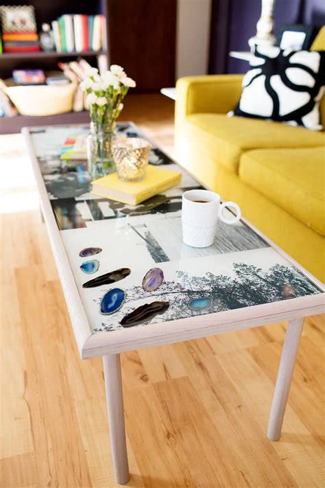 DIY Epoxy End Table
