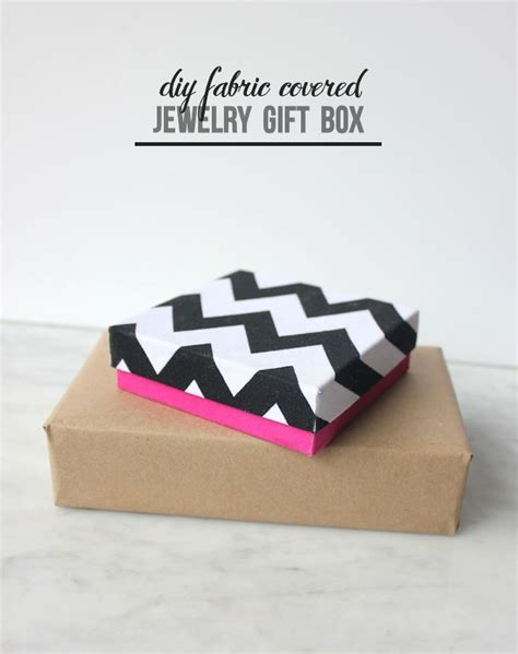 DIY Fabric Gift Boxes