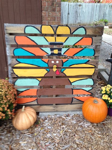 DIY Fall Pallet Projects